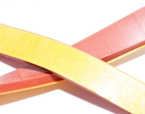 Silikon Vierkant, rot Konterband