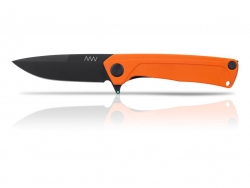 Z100 - DLC, Liner Lock, G10 Orange, Plain Edge